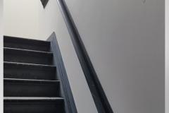 Trap opgang Glad Pleisterwerk